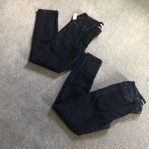 Two pairs of Old Navy jeans